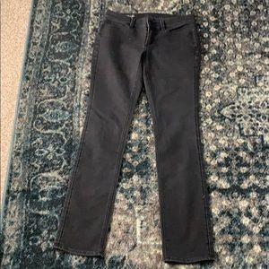 Ann Taylor Modern Fit black wash jeans